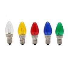1449 - LAMP CHUPETA E14 7WX127V SORT.BRASF