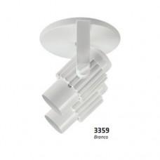 10260 - SPOT C/ALETA ALUMINIO 2 BOCAIS BR OPL