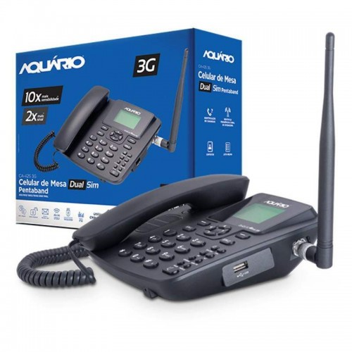TELEFONE CELULAR RURAL FIXO MESA AQUARIO