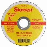 10358 - DISCO CORTE P/INOX  4.1/2 STARRETT
