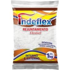 6307 - REJUNTE CINZA CLA.1KG INDEFLEX