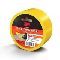 10897 - Fita De Demarcação  De Solo Uso Geral Amarela 50MM X 30M - 3M