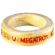4340 - CABO FLEX MEGATRON  2,5MM AMARELO