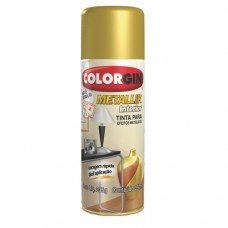 4004 - .SPRAY METALLIK DOURADO 57 COLORGIN