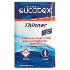 4931 - THINNER PEG E PINTE 5 LITROS EUCATEX