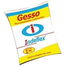 6315 - GESSO LENTO P/ESTUQUE 1KG INDEFLEX