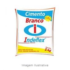 6314 - CIMENTO BRANCO 1KG INDEFLEX