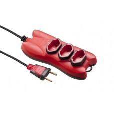 4205 - EXTENSAO   2P  2M MECTRONIC PT/VM