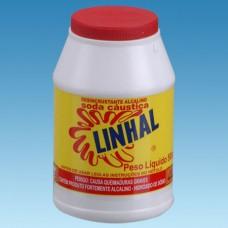 5458 - SODA CAUSTICA  500G LINHAL