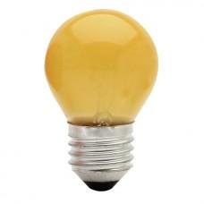 1057 - LAMP BOLINHA E27 15WX127V AMAR.BRASF