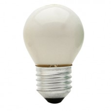 0113 - LAMP BOLINHA E27 15WX127V SORT.BRASF