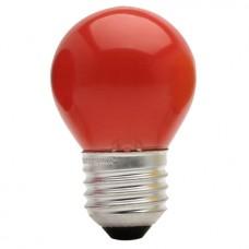 1474 - LAMP BOLINHA E27 15WX127V VERM.BRASF