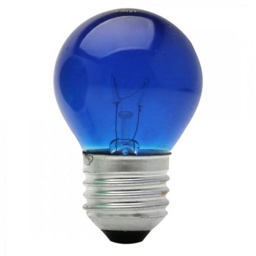LAMP BOLINHA E27 15WX220V AZUL BRASF