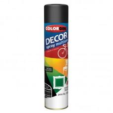 1671 - SPRAY DECOR PRETO FOSCO 871 COLORGIN