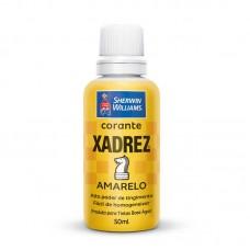 1640 - CORANTE XADREZ AMARELO
