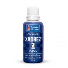 1641 - CORANTE XADREZ AZUL
