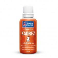 1642 - CORANTE XADREZ LARANJA