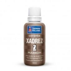 1643 - CORANTE XADREZ MARROM