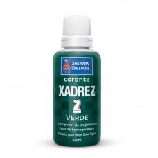 1646 - CORANTE XADREZ VERDE