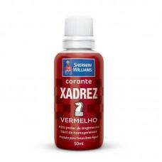 1647 - CORANTE XADREZ VERMELHO