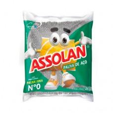 2901 - PALHA DE ACO ASSOLAN N  0