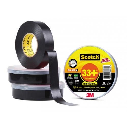 Fita Isolante Scotch 33+ 20MT - 3M