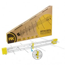 9291 - ANTENA EXT. UHF/HDTV LOG  8E(16E)PIX