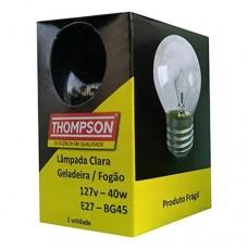9524 - LAMP GELADEIRA/FOGAO E27 40WX127V THOMP