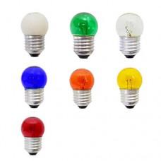 9520 - LAMP BOLINHA E27 15WX127V SORT.THOMP