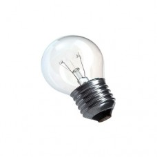 9523 - LAMP BOLINHA E27  7WX127V TRANSP.THOMP