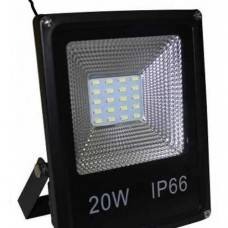 9234 - REFLETOR LED  20W 6000K SLIM BIV.REMANCI