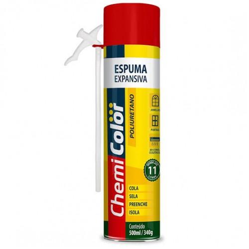 ESPUMA POLIUR.500ML-340GR CHEMI/PROTEG