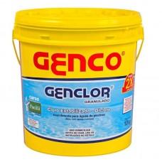 9996 - GENCLOR CLORO GRANULADO 10KG GENCO