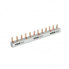 4636 - BARRAM. TRIF 12P-3X4P DIN 3F210B STECK