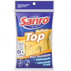 0152 - LUVA LATEX FORRADA AM G SANRO TOP