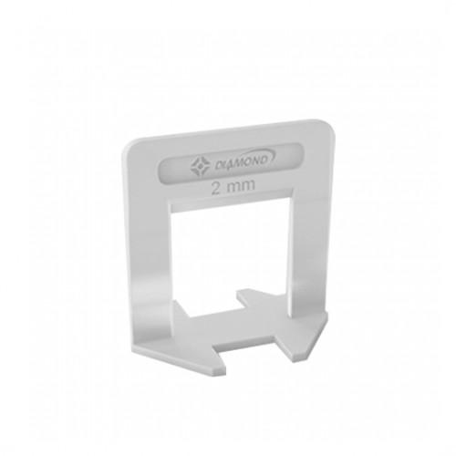 ESPACADOR/NIVELADOR 2,0MM C/50 DIAMOND