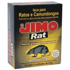 10629 - RATICIDA GRANULADO C/04 UN.25G  RAT JIMO